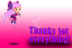 Thanks for everything! by starfirerencarnacion