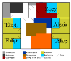 Floor layout by TomeOfAnnwn