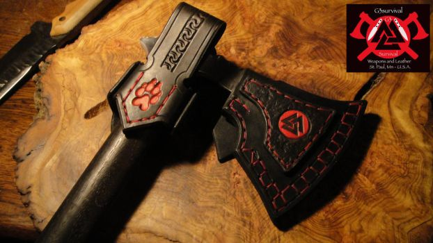 G3survival Clan of the Valknut axe by G3survival