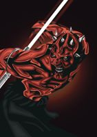 Darth Maul by eosvector