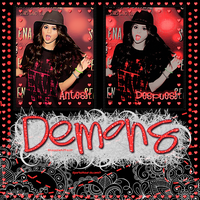 ~Demons PSD by SparksRawr