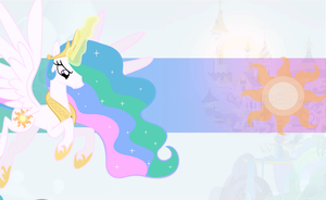 Princess Celestia Wallpaper by mayosia