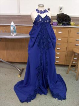 Senior Project gown 1 of 10 by Shiya