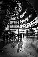 Reichstag Dome by daguerreoty-pe