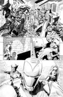 New Avengers Annual 3 Page 25 by mikemayhew