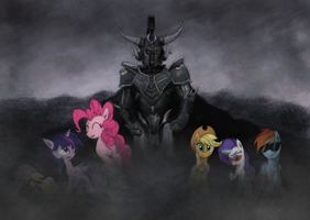 The Dreaded Ares, God of Ponies by Hewison