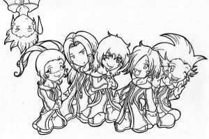 KH - The Chibi Organization by brendab432
