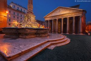 Rome, Pantheon by SimonePomata