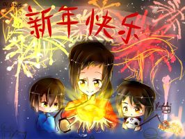 {APH China and friends} Happy Chinese New Year! by Paluumin