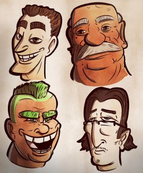 Heads of State by Hubadaeus