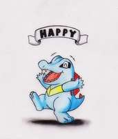HAPPY - Totodile by GTS257-CT