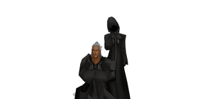 MMD Roxas hooded and Ansem DL by Littleaerith2140