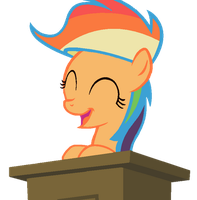 Happy RainbowDash Fan (Base) by AsasDebrilho