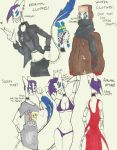 Sioux Outfits by Nyctomancer