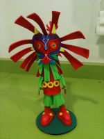 Skull Kid Foam Rubber by anapeig