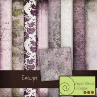 Evelyn-paper street designs by paperstreetdesigns