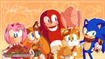Happy Thanksgiving from Sonic Boom by Domestic-hedgehog