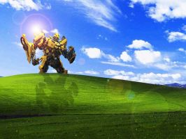 Windows Xp Bumblebee by DiegoSkywallker