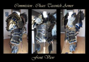 Commission : Chaos Tzeentch Armor by Deakath