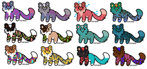 Tiger Adopt Time 11 (OPEN) 5 POINTS by Blue-Eyes24