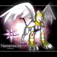 Nefertimon 3d by me by EAA123