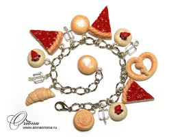 Strawberry Cheesecake by OrionaJewelry