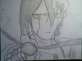 Ulquiorra Drawing :) by Artisticgram