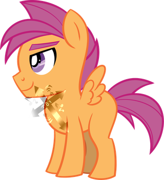 Hearts as Strong as Horses - ScooteRoll Vector by philsterman