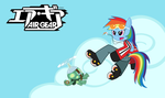 Air Gear - Rainbow Dash by Sonic-chaos