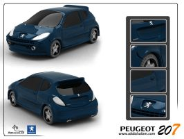 Peugeot-207 by AbdAlsalam