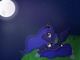 Princess Luna by DallyDog101