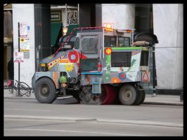 street sweeper by shod