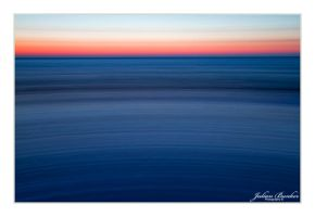 Abstract Sunset by Julian-Bunker