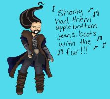 Thorin in the club by Lady-Lena-LaFaye