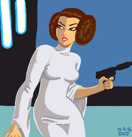 Leia for the Draw Something app by zachjacobs