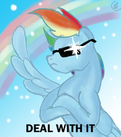 Deal with it by XantheStar