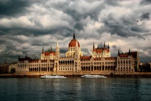 Hungarian Parliament Budapest by photoklarisz