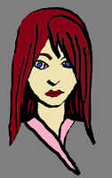 Red Haired Woman by godzilla1990