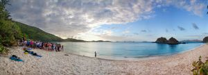 Trunk Bay Pano - 2 by emilyrosecaspe