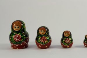 Russian Dolls 2 by joannastar-stock