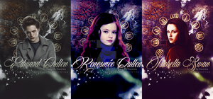 Cards Edward Renesmee Isabella Cullen by N0xentra