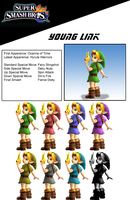 Young Link (for Possible DLC) by birdman91