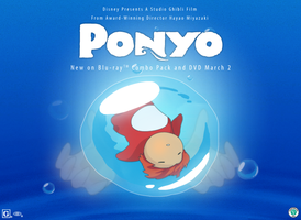 Ponyo: Contest Entry by super-tuler