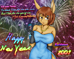 Happy New Year from Tracey by BleachedKitten