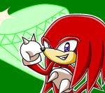 .:Knuckles The Echidna:. by FabienneTheHedgehog