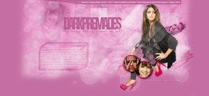 Selena Gomez Header#4 - Portfolio by DarkVisuals