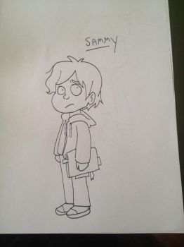 Sammy | Paranormal Activity by LinkyBrutus