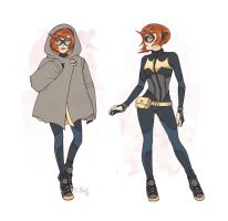 Batgirl Begins Again by ElizabethBeals