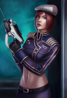 Commodore Shepard (Updated) by Mikesw1234