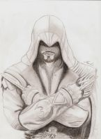 Assassin's Creed : Brotherhood / Ezio Auditore by Aurore-Yoan